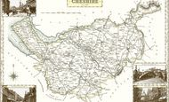 Map of Cheshire