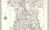 Map of Derbyshire