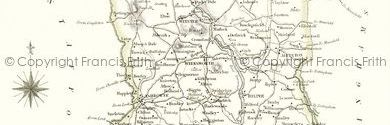 Old Map of Derbyshire