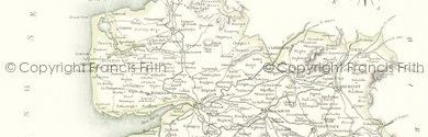 Old map of Brown Syke Hill centred on your home