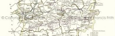 Old map of Bustard Inn centred on your home