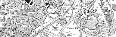 Old map of Burn of Auchintoul centred on your home