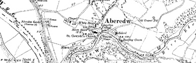 Old map of Abereiddi Bay centred on your home