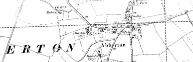 Old map of Ardnagoine centred on your home