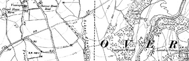 Old map of Allt Leacach centred on your home