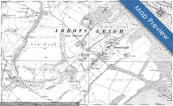 Historic Map covering Brora