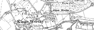 Old map of Ackergillshore centred on your home