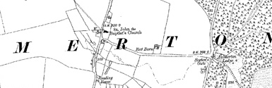 Old map of Aylmerton centred on your home