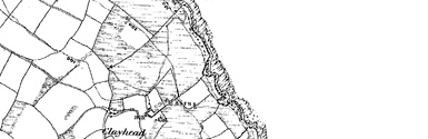 Old map of Baldromma centred on your home