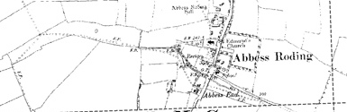 Old map of Allt a' Gharbhain centred on your home
