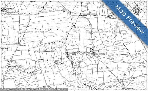 Historic Map covering Blatchborough