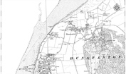 Historic Map of Old Hunstanton