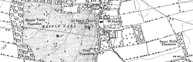 Old map of Baile Loch centred on your home