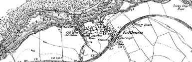 Old map of Butter Howe centred on your home