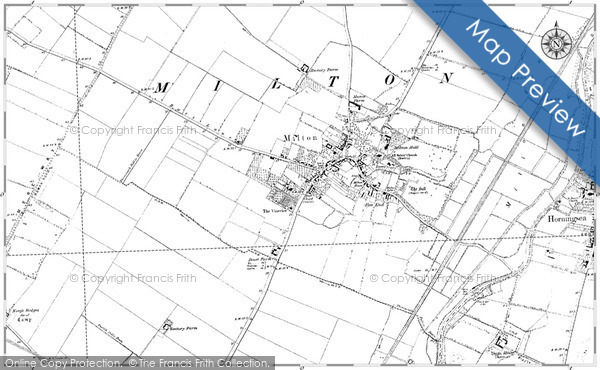 Historic Map covering Balcraig Moor