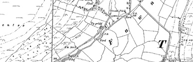 Old map of Auldtown centred on your home