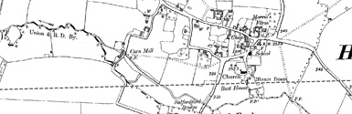 Old map of Broughton Grounds centred on your home