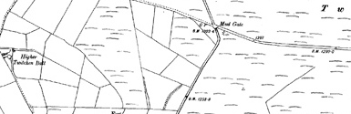 Old map of Barcombe centred on your home