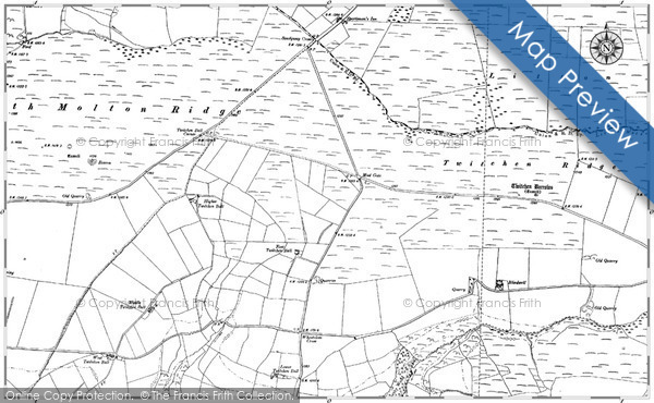 Historic Map covering Barcombe