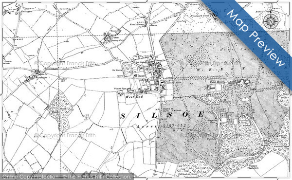 Historic map of Broughtonknowe