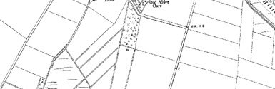 Old map of Brograve Level centred on your home