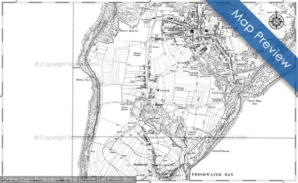 Historic Map covering Blacknor