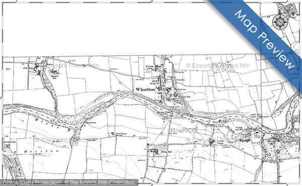 Historic Map covering Arlaw Banks