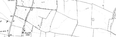 Old map of Wycliffe centred on your home