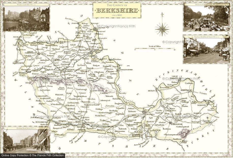Map of Berkshire