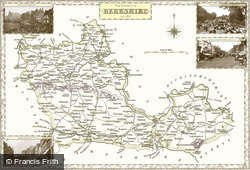 Map of Map of Berkshire