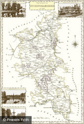 Map of Map of Buckinghamshire