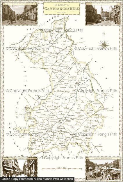 Map of Cambridgeshire