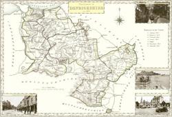 Map of Denbighshire