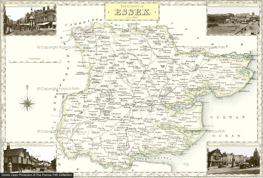 Map of Essex