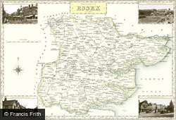 Map of Map of Essex