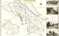 Map of Map of Flintshire