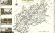 Map of Map of Gloucestershire