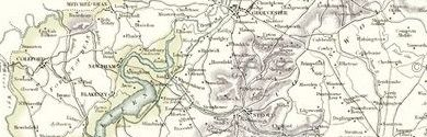 Old Map of Gloucestershire