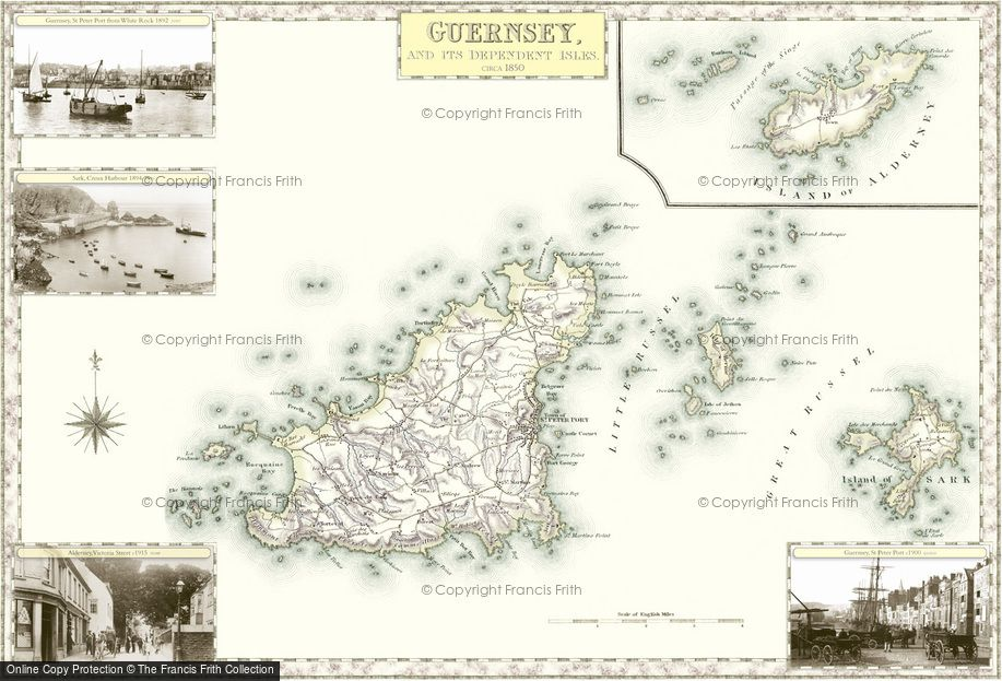Map of Guernsey