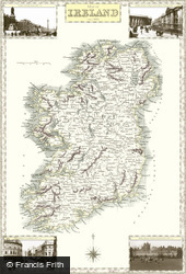 Map of Map of Ireland