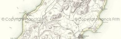 Old Map of Isle of Man