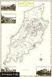 Map of Map of Isle of Man