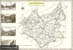 Map of Map of Leicestershire
