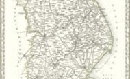 Map of Map of Lincolnshire