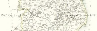 Old Map of Lincolnshire
