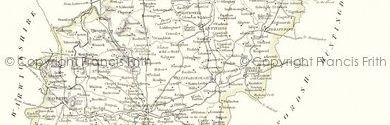 Old Map of Northamptonshire