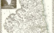 Map of Map of Northumberland