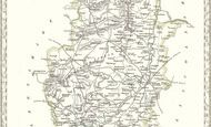 Map of Map of Nottinghamshire