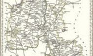 Map of Map of Oxfordshire