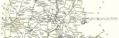 Old Map of Oxfordshire